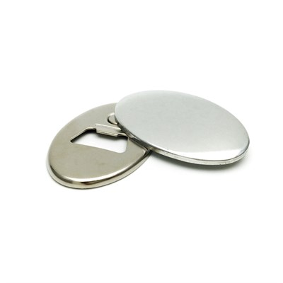 Значок открывалка с магнитом 45*69 мм овальная