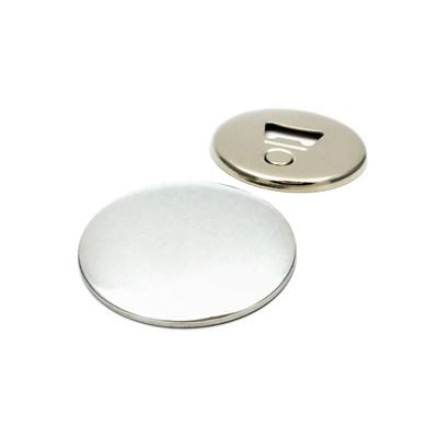 Значок открывалка с магнитом 65 мм круглая