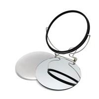 Зеркало круглое закатное с подставкой 110 мм