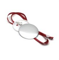 Медаль круглая с красным шнурком 44 мм